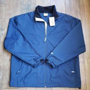 BAUER Navy Full Zip Jacket Size L